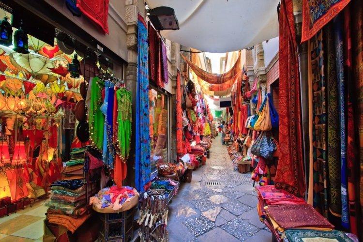 اسواق شعبية للملابس في الهند