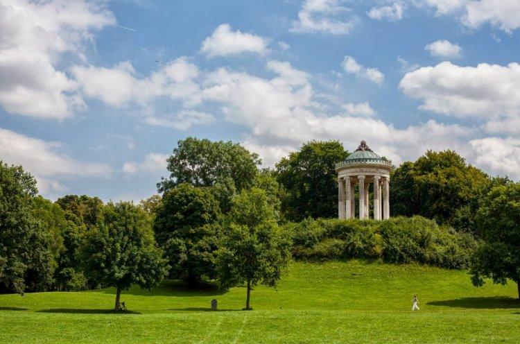 الحديقة الانجليزية في ميونخ