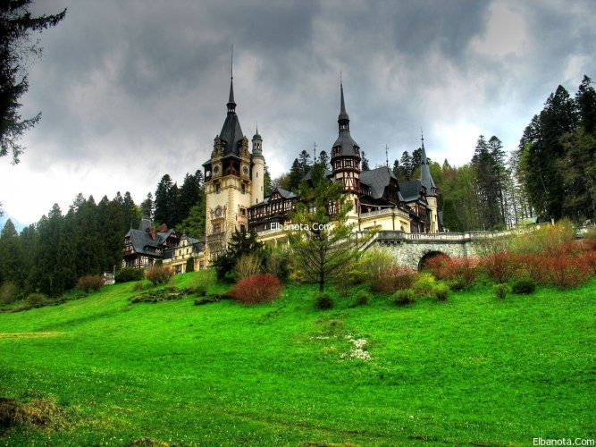 قلعة في رومانيا