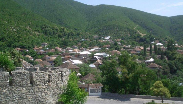 مدينة شكى اذربيجان