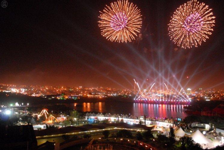 مهرجان سياحي في السعودية