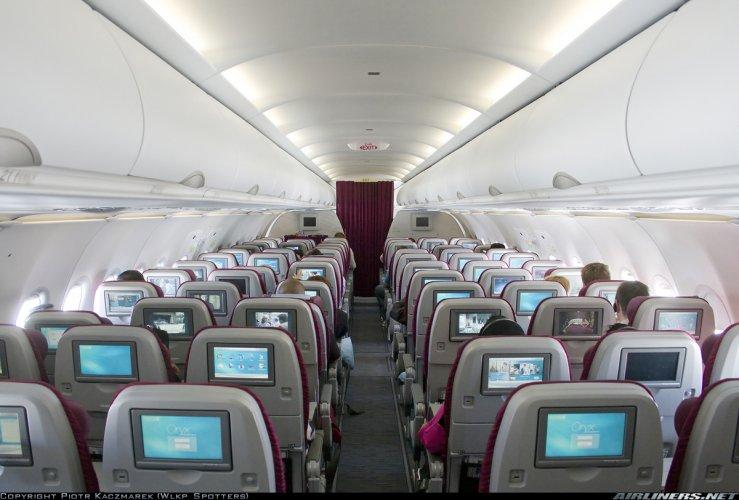 ايرباص A320 من الداخل