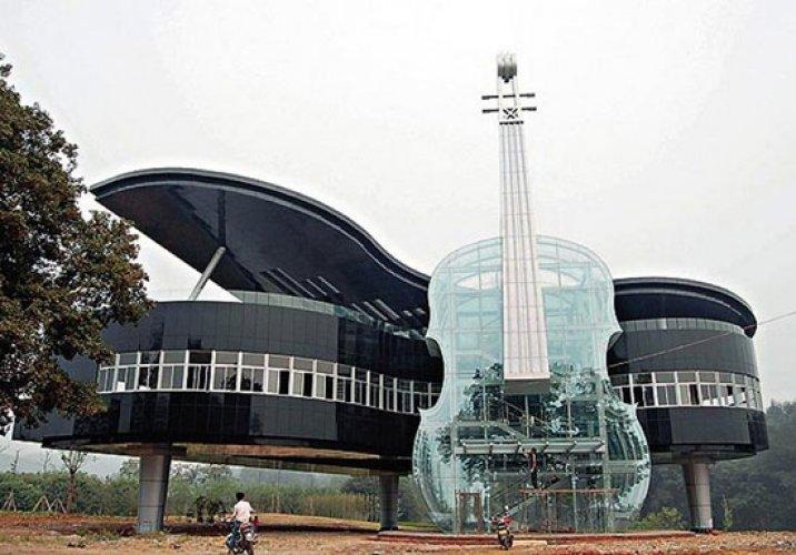 منزل البيانو في الصين