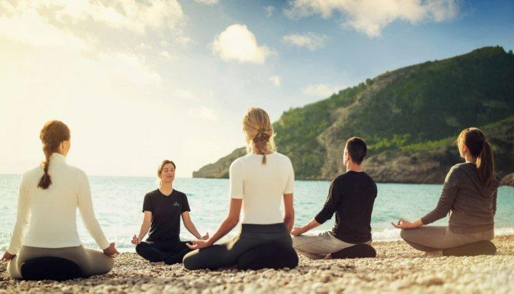 SHA_Meditation on the beach