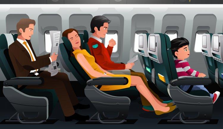 مايزعج المسافر فى الطائرة