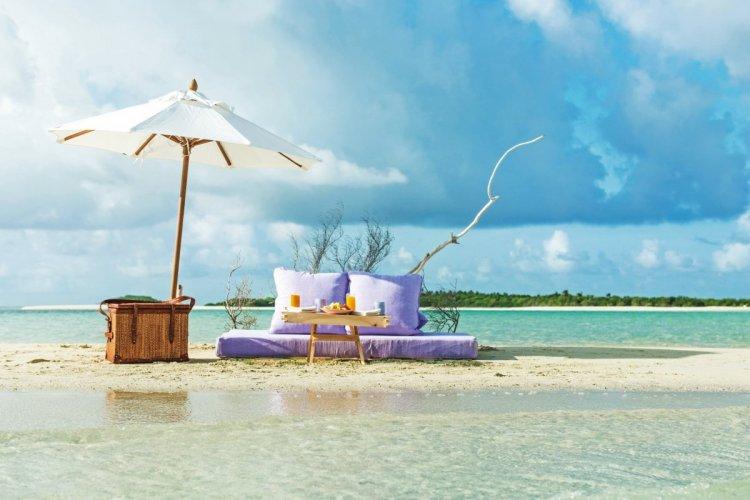 شواطئ المالديف الساحرة