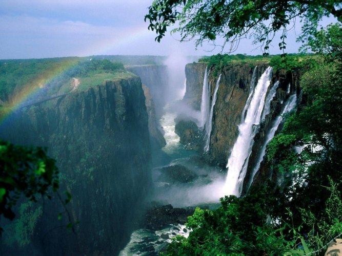 شلالات فيكتوريا - زيمبابوي