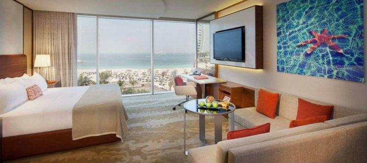غرفة في أحد فنادق دبي