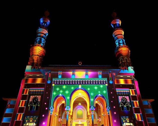 مسجد في واجهة المجاز القصباء