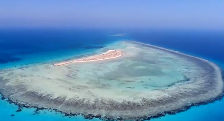 الجزر السعودية في البحر الاحمر