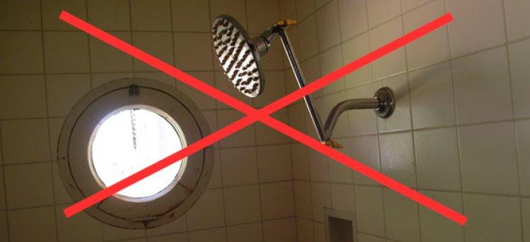 لا تأخذ حماماً عندما تكون مريضاً