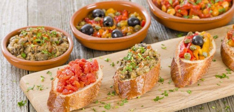 التاباس والمطبخ الإسباني Tapas