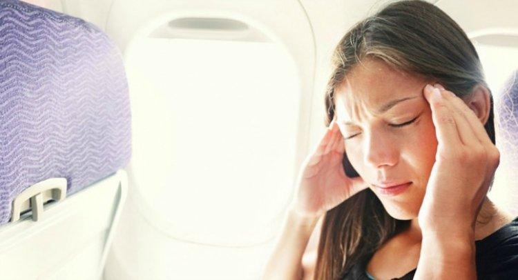 اعراض السفر بالطائرة