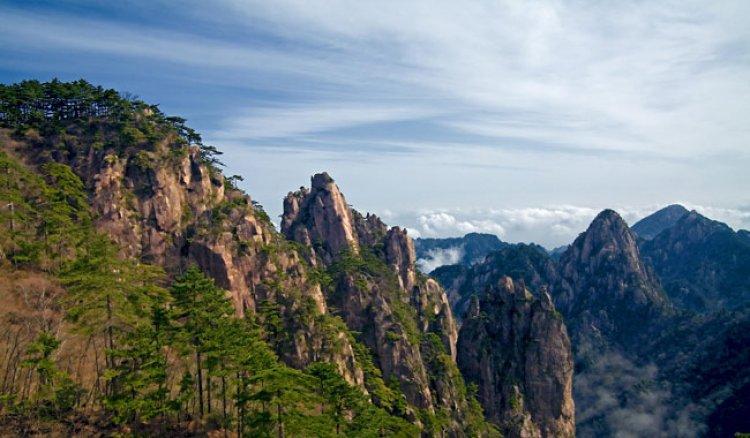 الجبل الأصفر بالصين