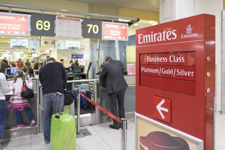 الوزن المسموح به على طيران الإمارات