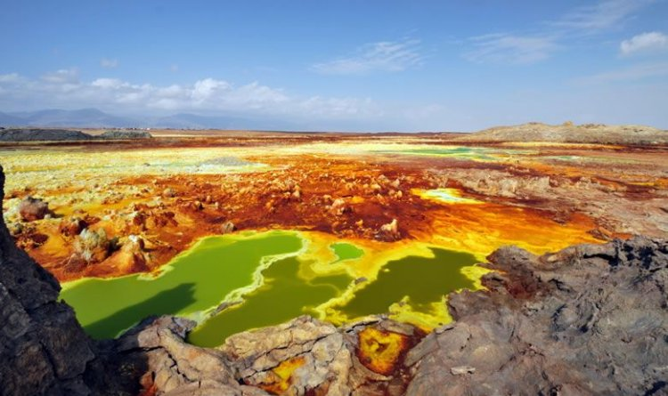 منطقة بركان دلول في أثيوبيا