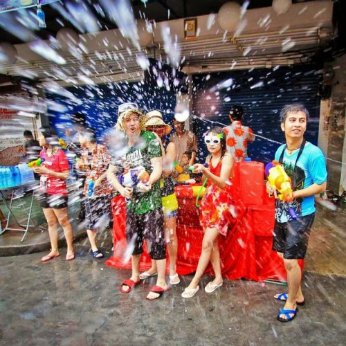The Songkran festival – تايلاند