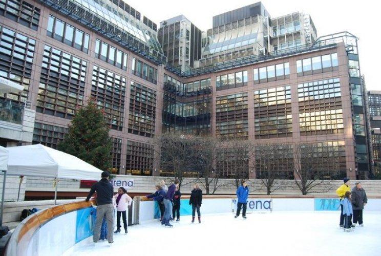 ساحة التزلج