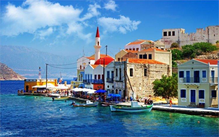 الجزر اليونانية