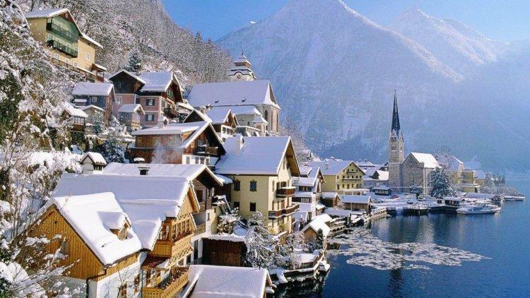 جمال الثلوج في النمسا