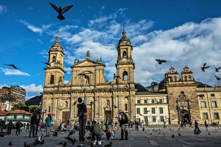 عراقة المباني في يوغوتا كولومبيا