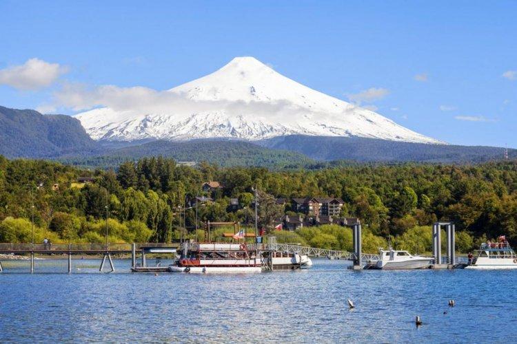 روعة المنظر في بوكون في تشيلي