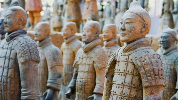 جيش الفخار الصينى