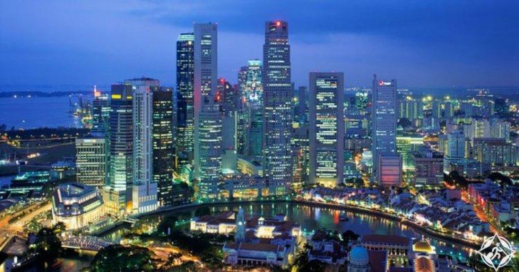 ناطحات السحاب في سنغافورة