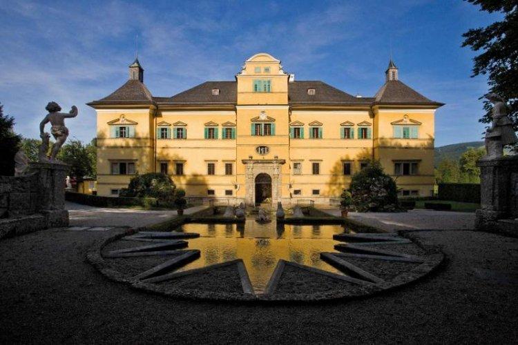 قصر هيلبرون في سالزبورغ