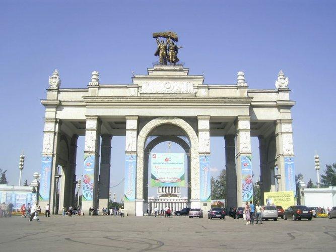 """مركز معارض عموم روسيا … حديقة """"فدنخا"""