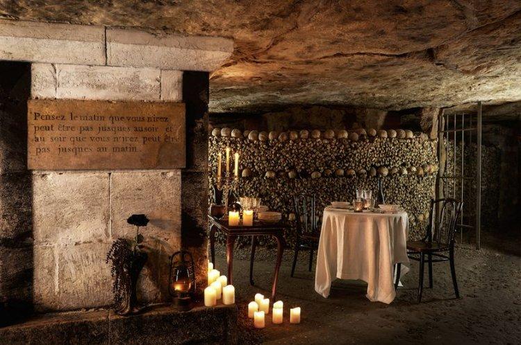 مطاعم داخل سراديب الموتى في باريس