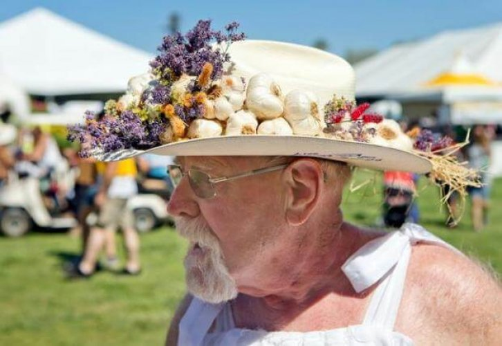 مهرجان الثوم في كاليفورنيا