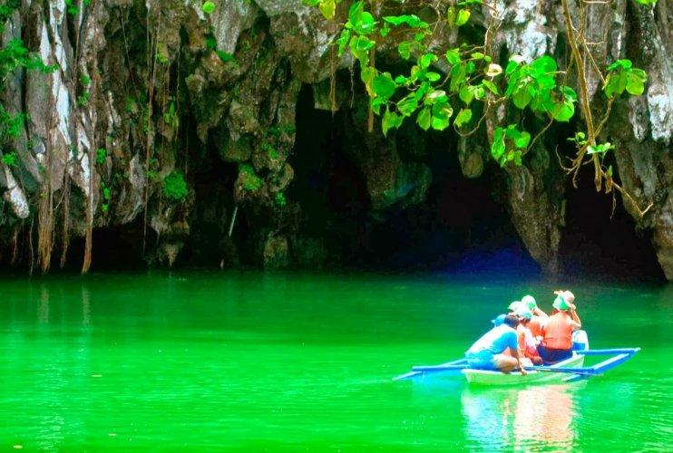 نهر بورتو برنسيسا، الفلبين