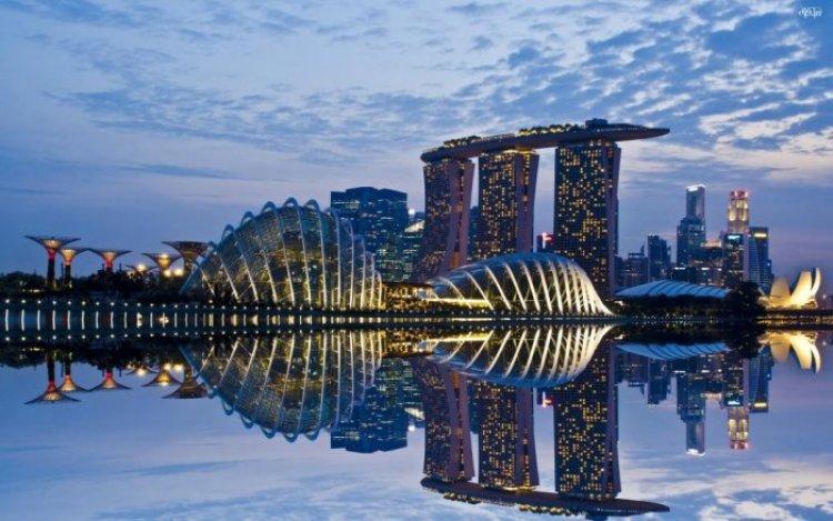 معالم سنغافورة