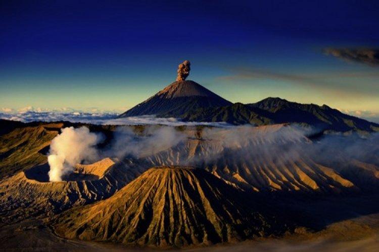 بركان جبل برومو، اندونيسيا