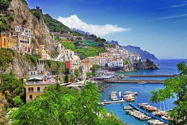 ساحل أمالفي في ايطاليا
