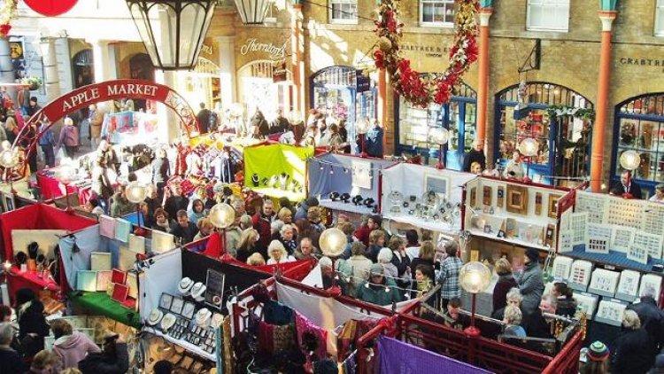 سوق كوفنت غاردن في لندن