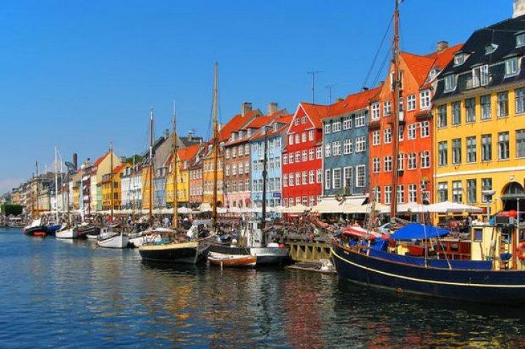 مدينة كوبنهاجن في الدنمارك