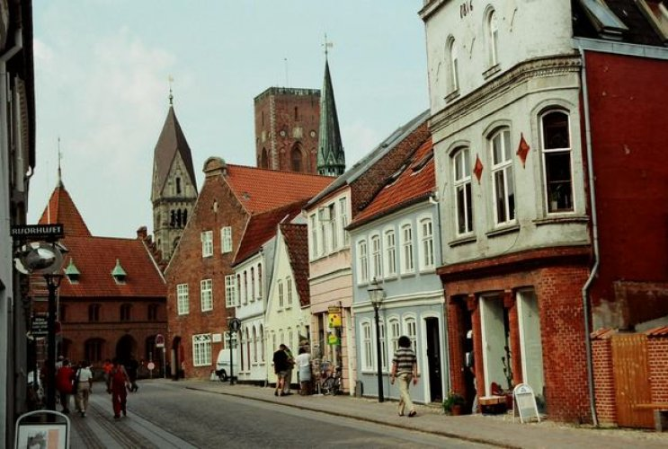 مدينة ريبي في الدنمارك