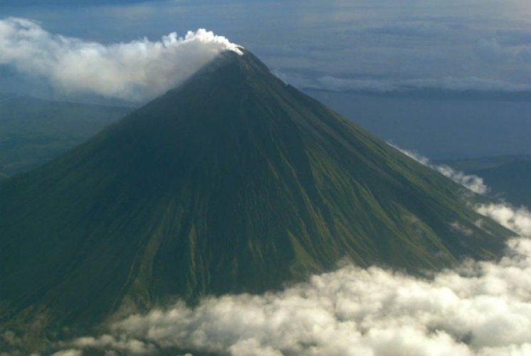 بركان مايون اجمل براكين الفلبين