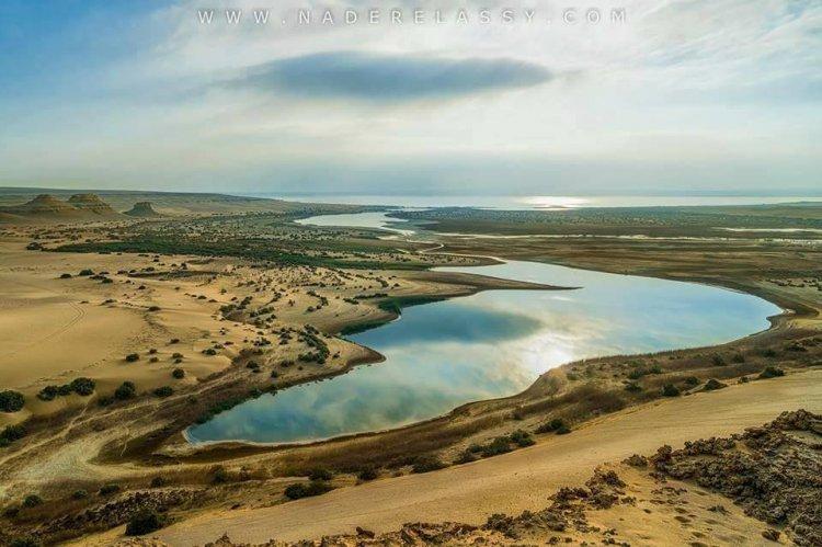 البحيرة المسحورة في مصر