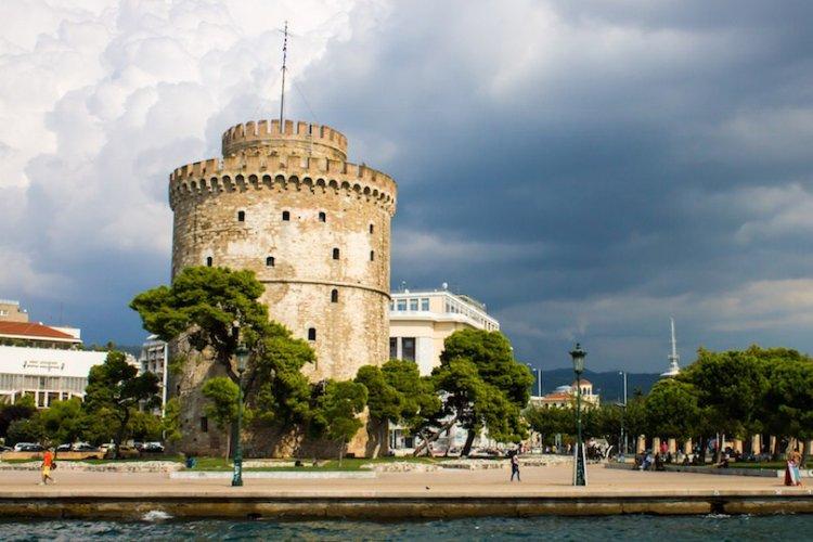 البرج الابيض بسالونيك في اليونان