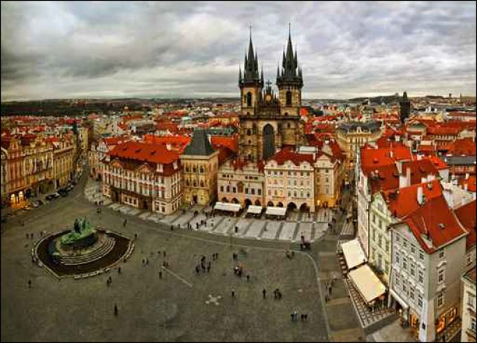 مدن سياحية في التشيك