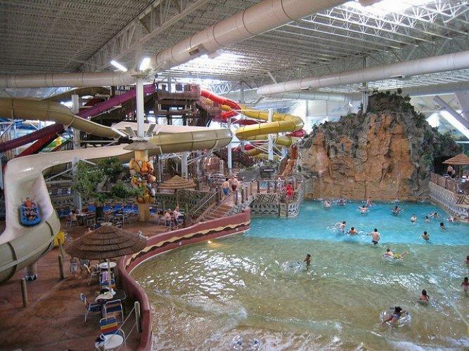 الحدائق المائية بولاية ويسكونسن