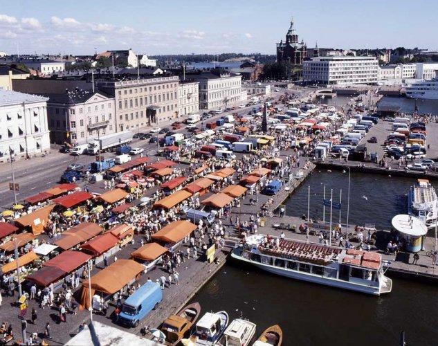 منطقة السوق في هلسنكي