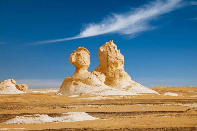 الصحراء البيضاء بمصر