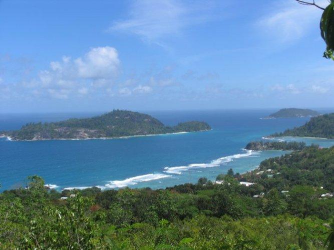 الطبيعة في جزيرة ماهي