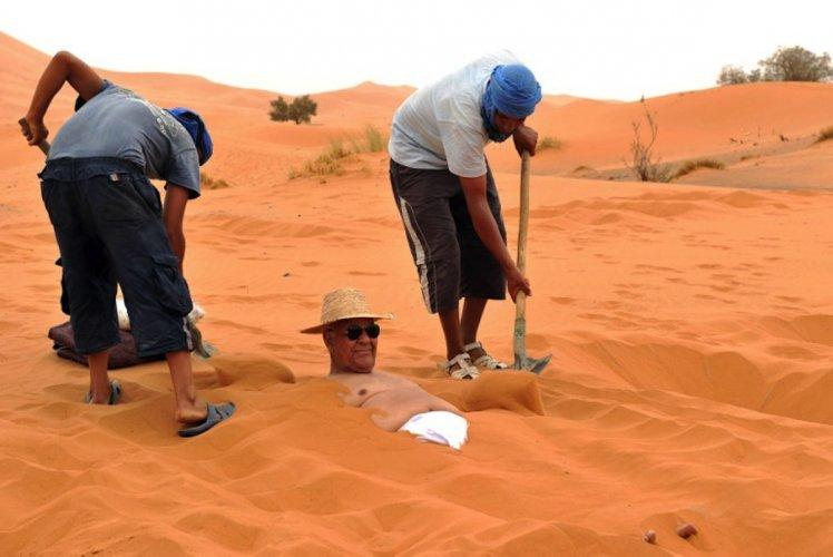 السياحة العلاجية بالرمل