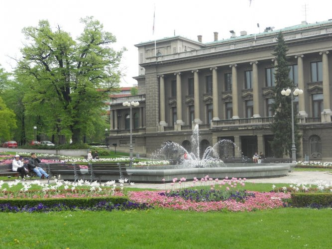 القصر الملكي في بلغراد