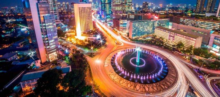 مدينة جاكرتا في اندونيسيا